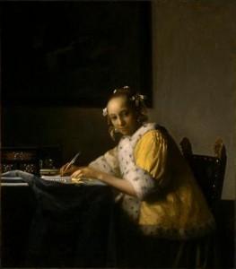 vermeer-lady-writing