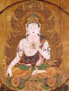 Grueddhist 5, painting