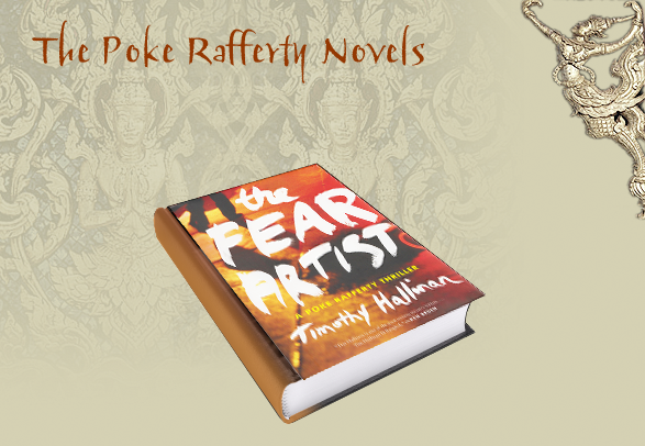 Timothy Hallinan Poke Rafferty Thrillers The Fear Artist border=